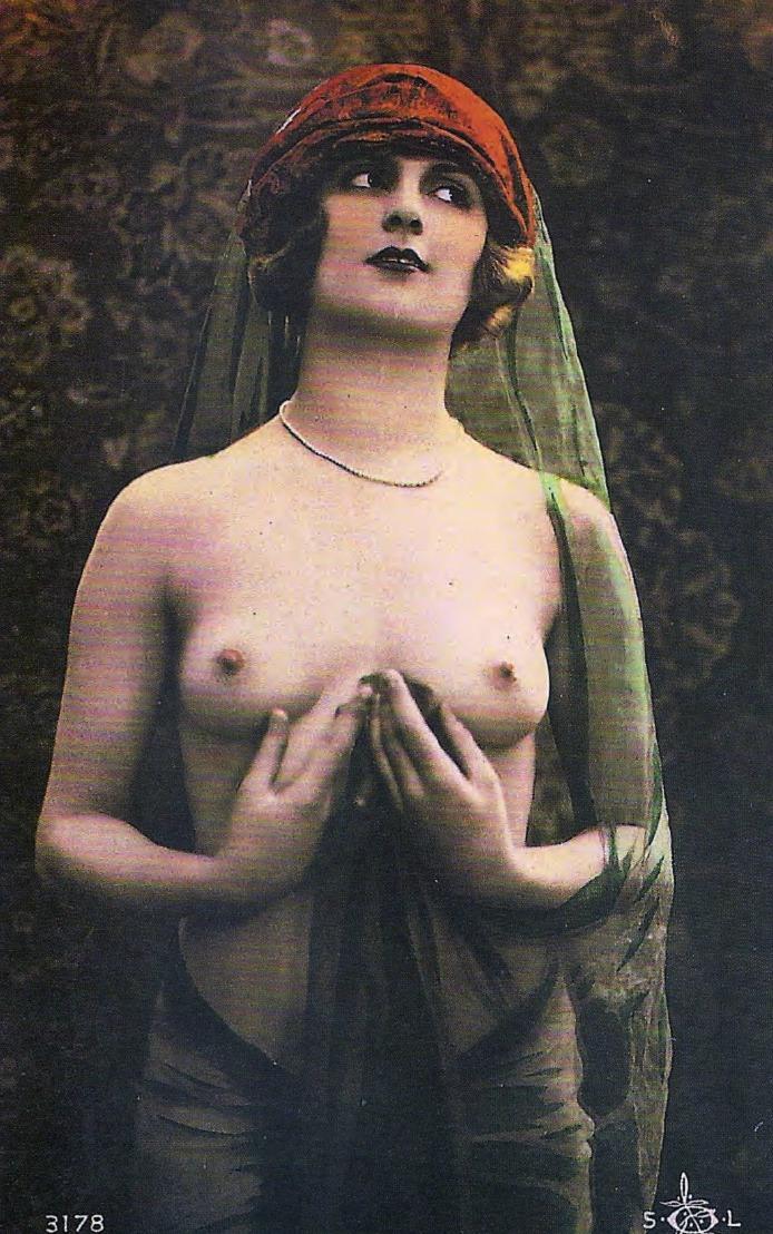 Ретро французская эротика 11 фотография