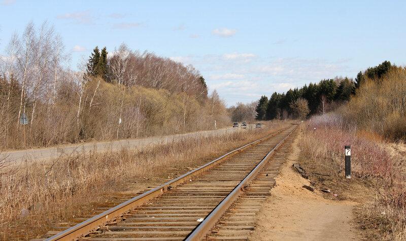 Ветка на Углич от Калязина