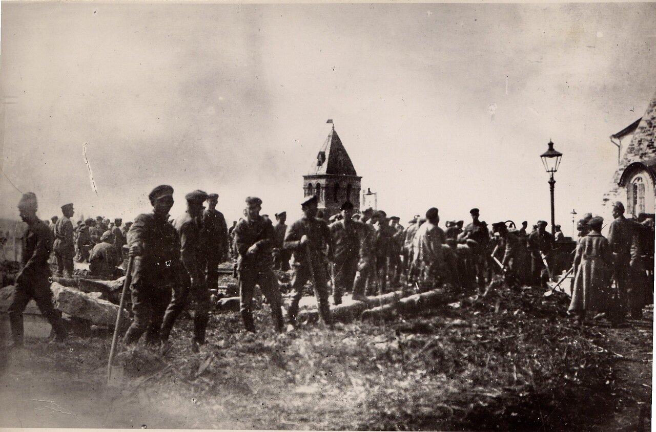1920. Субботник в Кремле