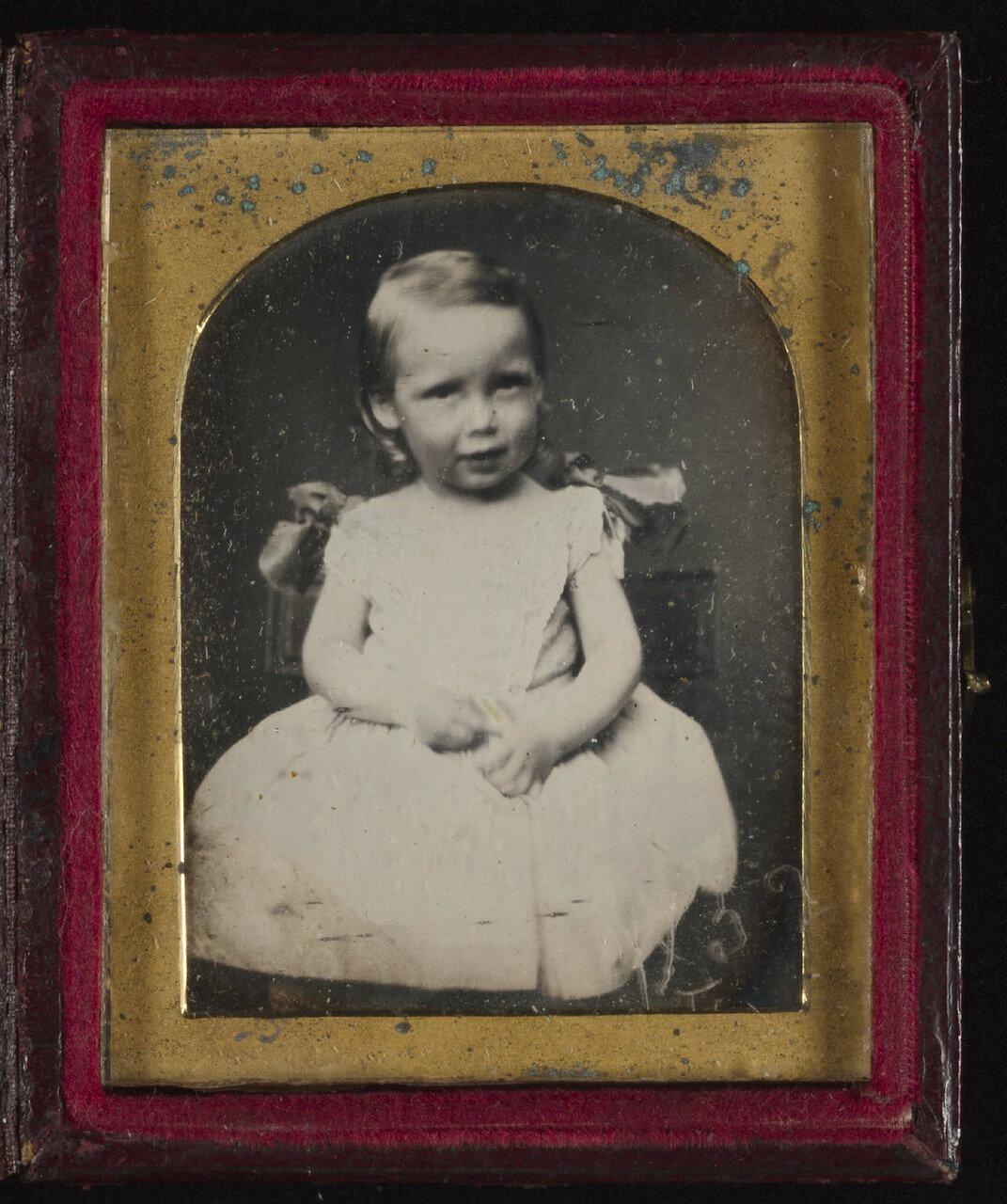 1850-е. Детский портрет Роберта Льюиса Стивенсона