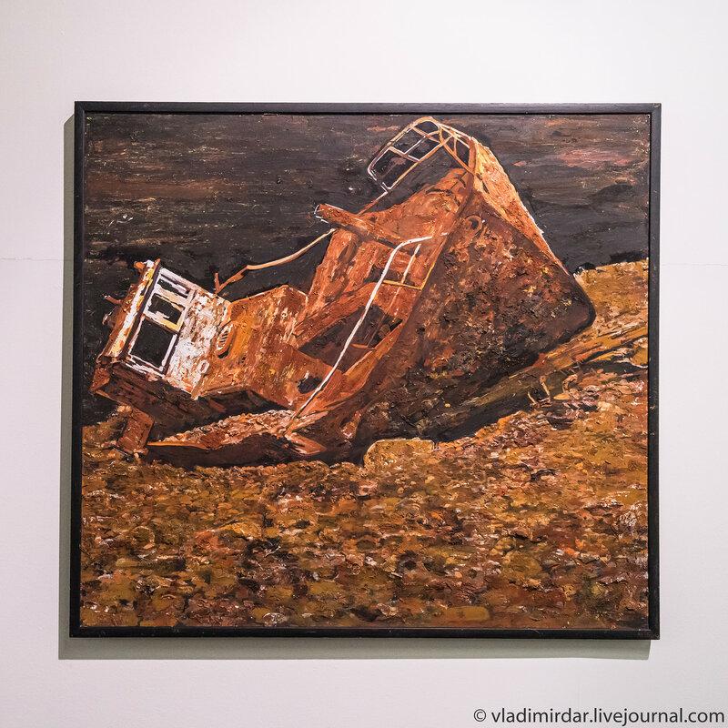 Корабль. Олег Арадушкин. 2007.