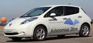 В 2016 году Nissan выпустит первый беспилотный автомобиль