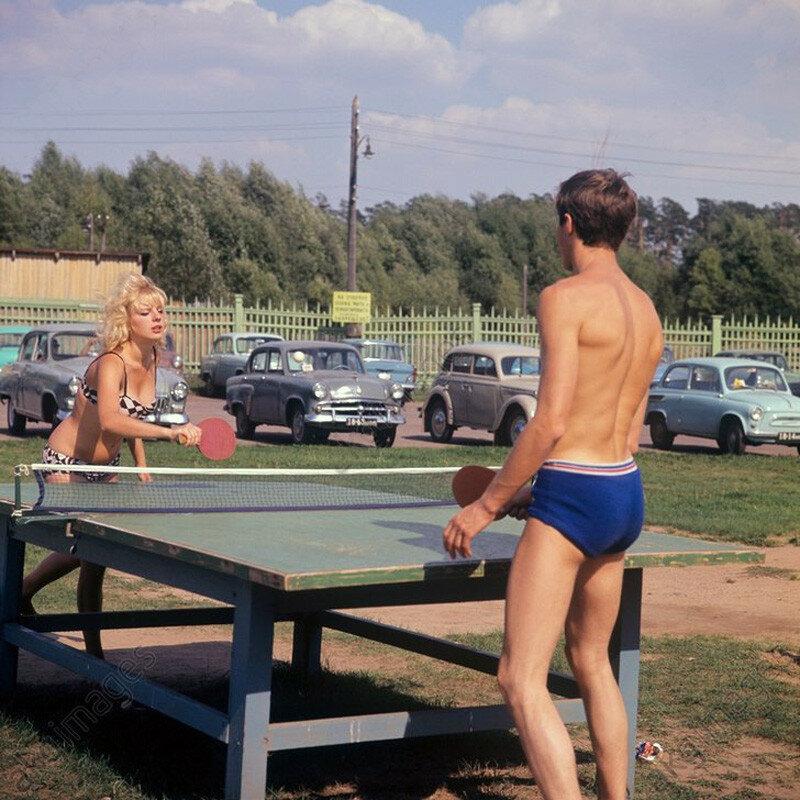 Зона отдыха в Подмосковье, 1967