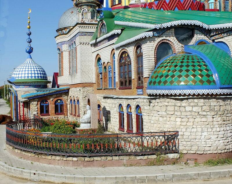 Храм   всех религий.г.Казань