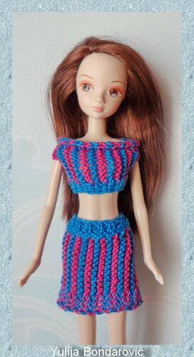 Кимберли клуб вязание для барби
