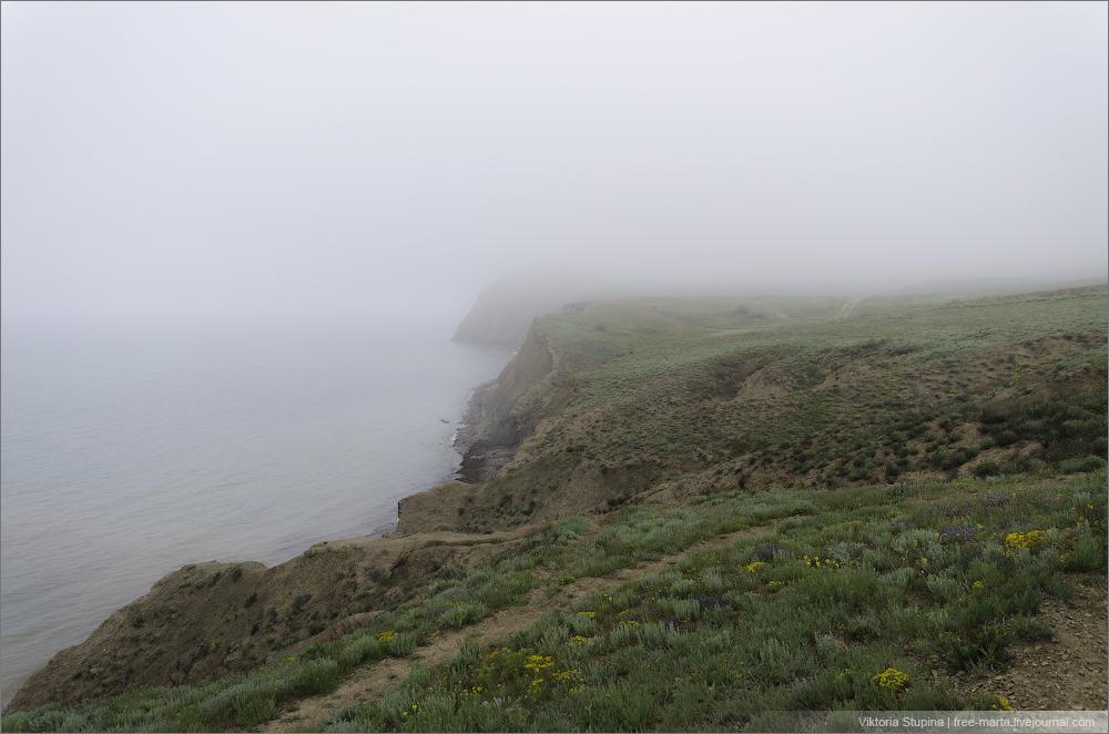 туманы Коктебеля