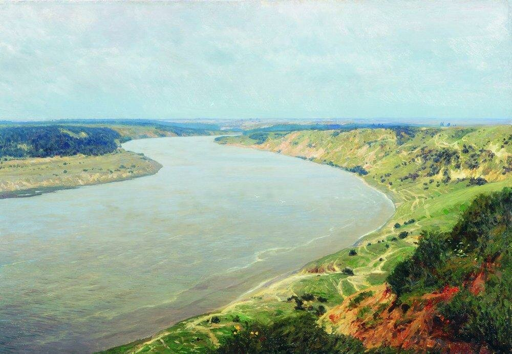 Река Неман. 1895.jpg