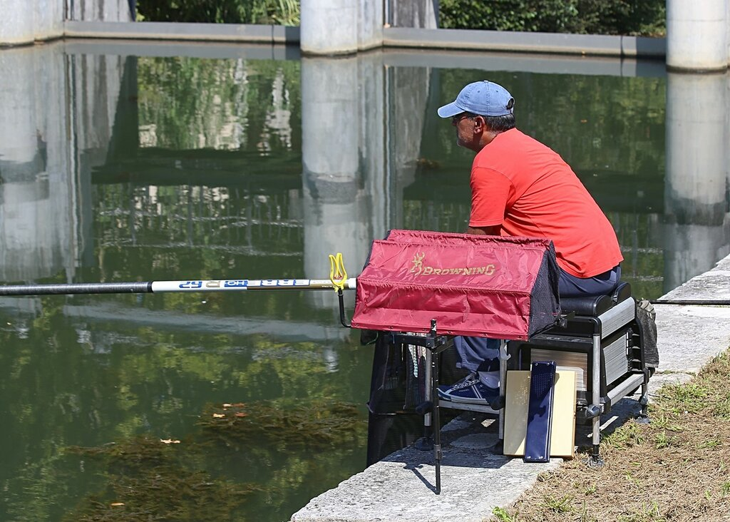 Лейрия. Рыбалка в реке Лис