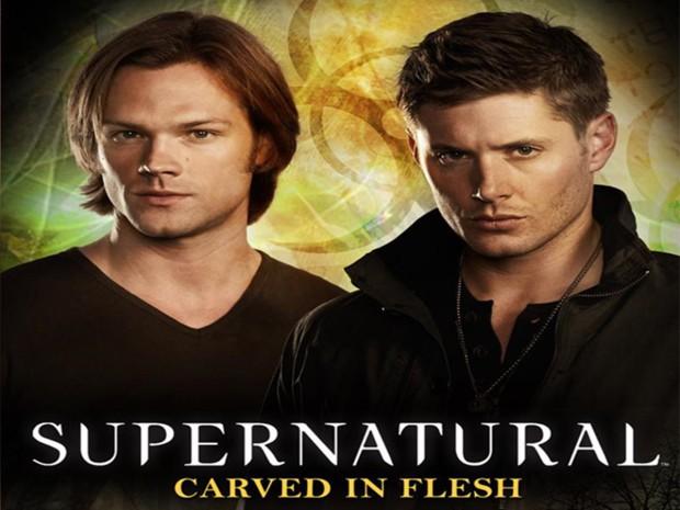 Книга «Сверхъестественное: Врезано в плоть» (Supernatural: Carved in Flesh)