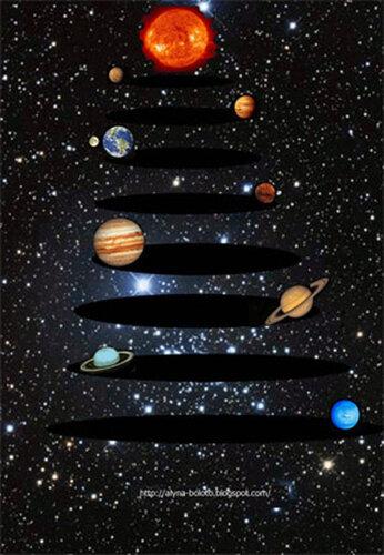 Космическая елка