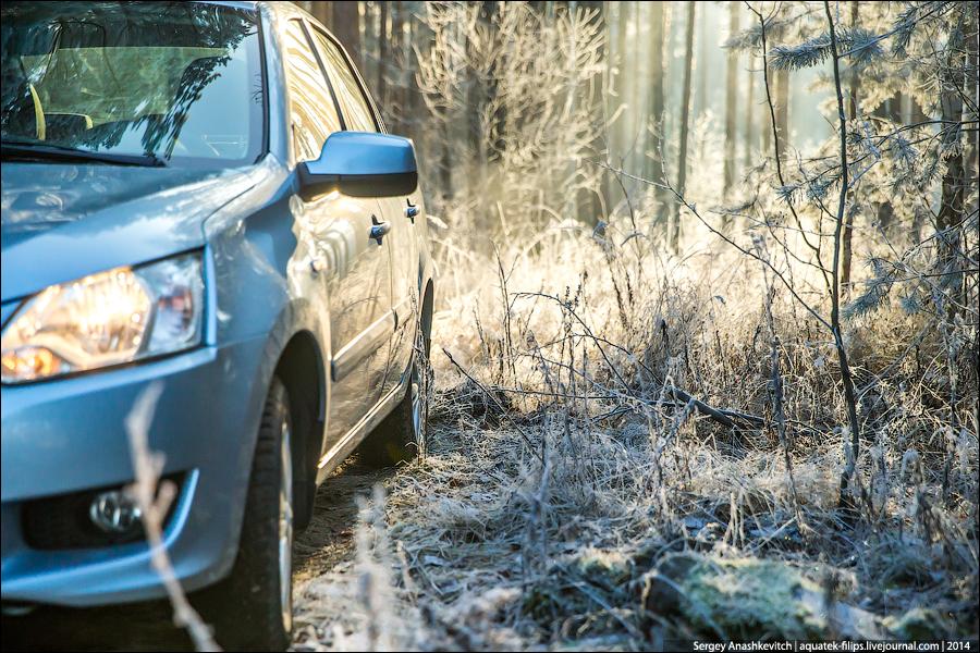 Автопробег с Datsun по России, день 12