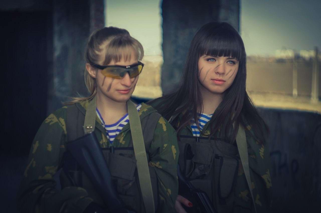 Боевые подруги: Фотосессия в стиле Military - лазертаг клуб - Отряд 61 - (Ростов-на-Дону) (13)