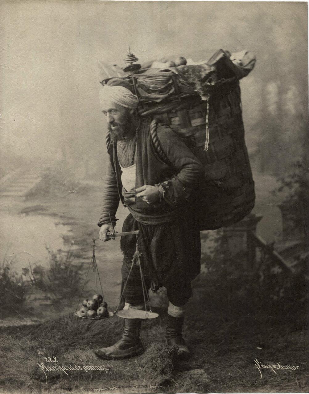 Продавец яблок