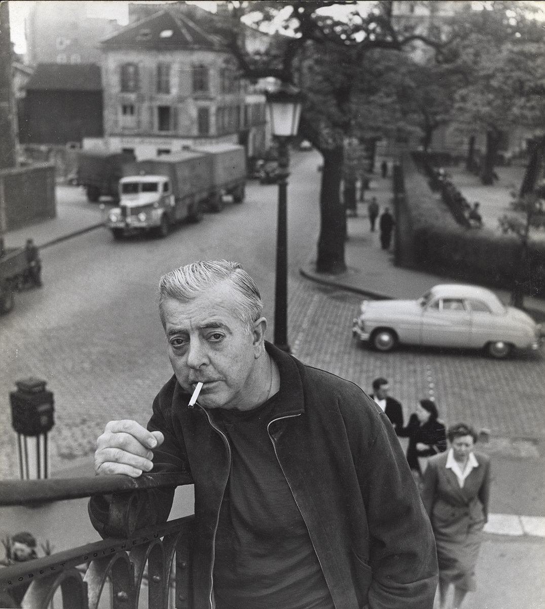 1955. Жак Превер, Мост Альма. Париж
