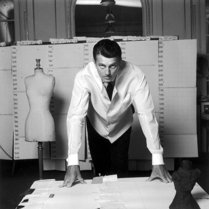 1960. Юбер де Живанши, Париж