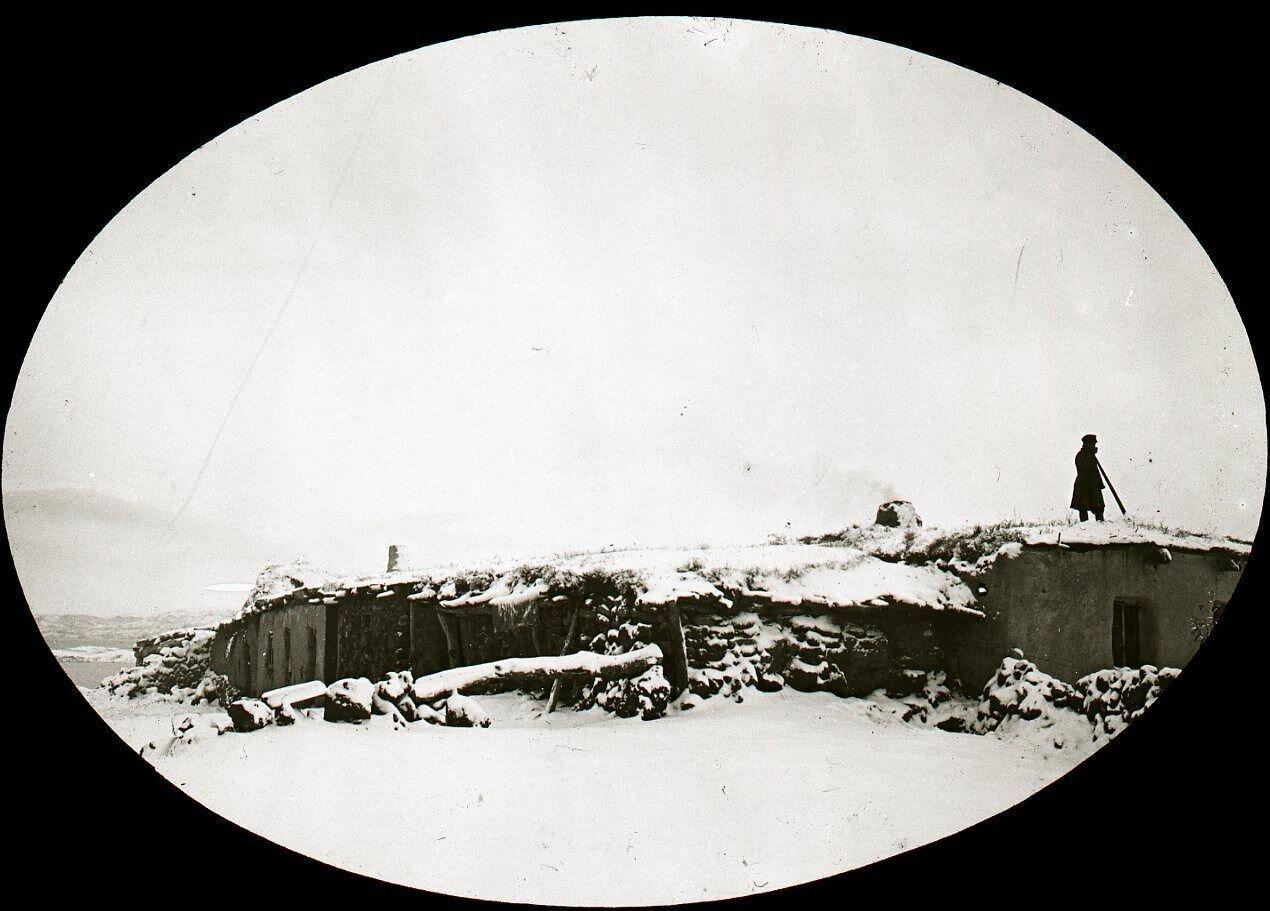 22. Еленовка в снегу