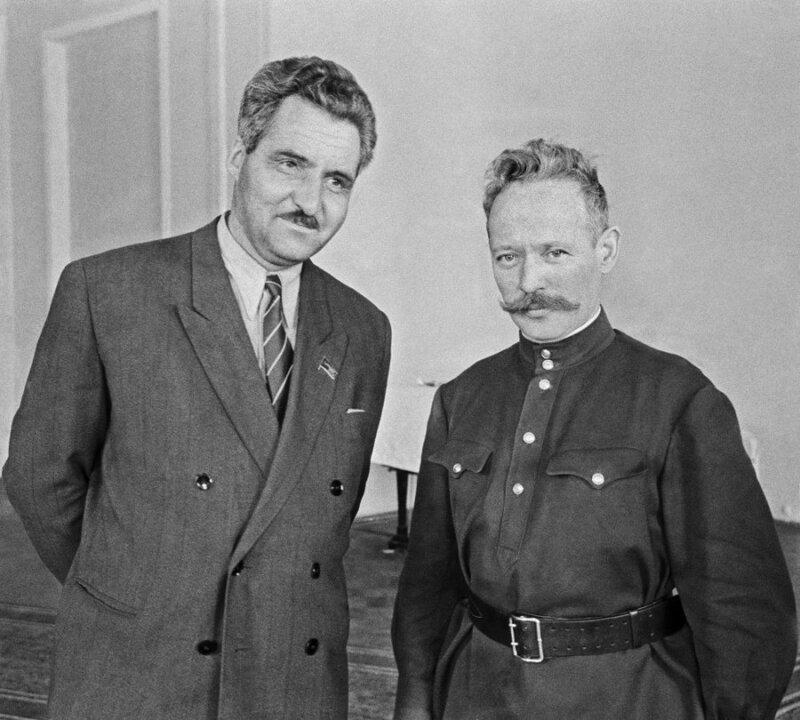 Константин Симонов, Михаил Шолохов