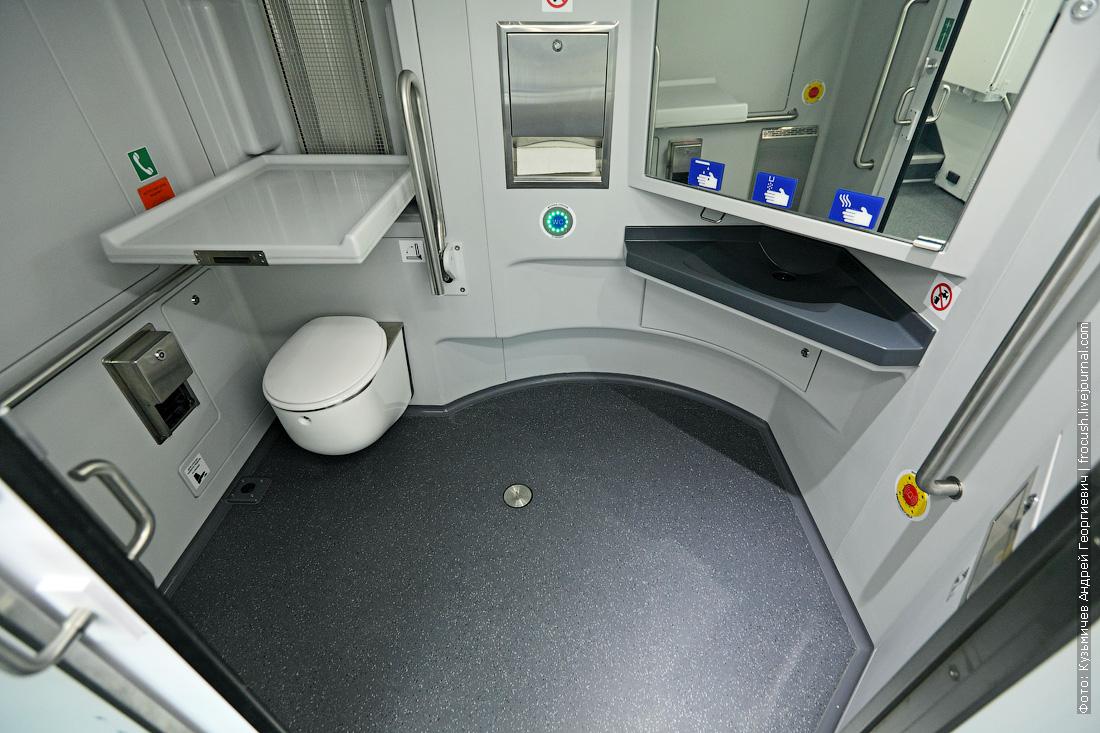 аэроэкспресс двухэтажный фотографии туалета для инвалидов колясочников