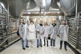 125 тысяч «промышленных туристов» посетили пивоварню «Оболонь»