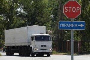 Россия готовит очередной гуманитарный груз на восток Украины