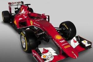 «Феррари» презентовала свой новый болид для «Формулы-1»