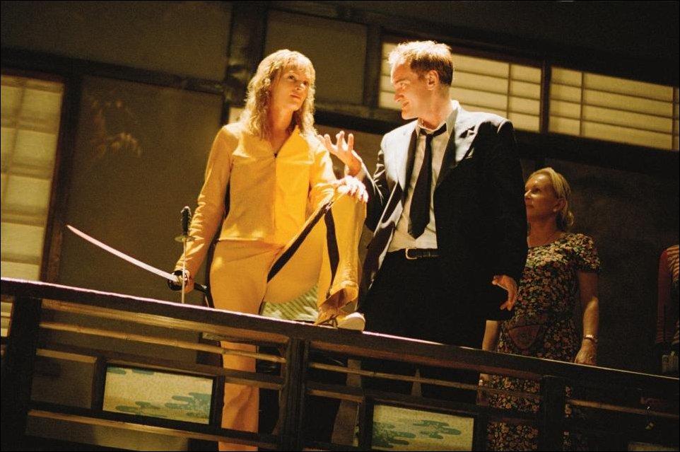 Как Квентин Тарантино Уму Турман на съёмках Убить Билла чуть не убил