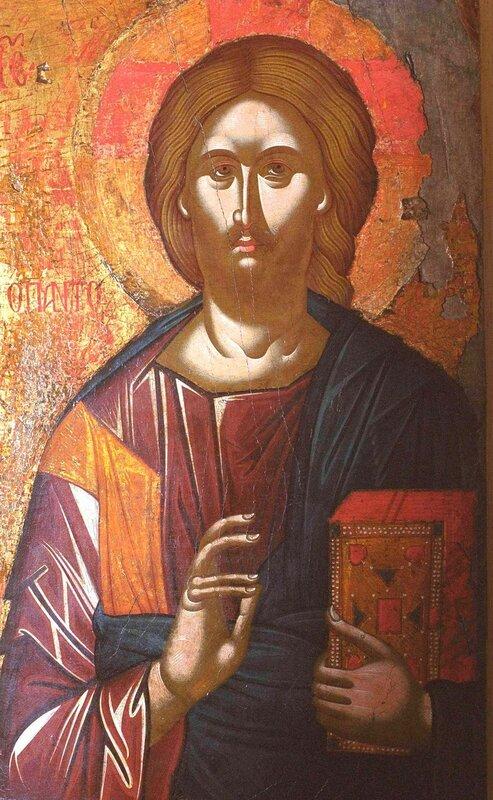 Христос Пантократор. Икона. Кипр.
