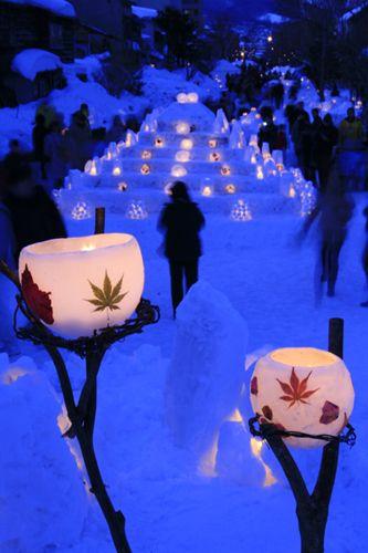 Красивое Рождество в Японии