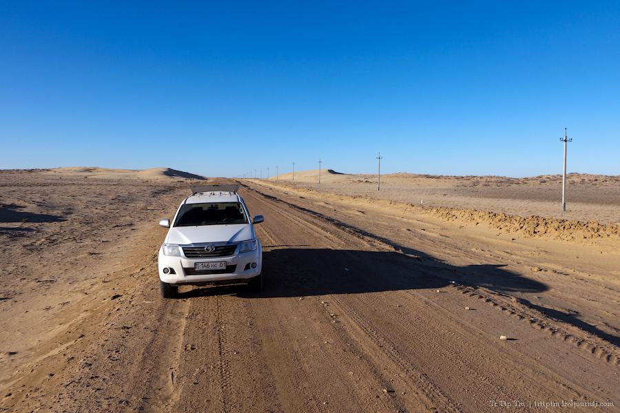3. Пустыни юго-западного Казахстана.