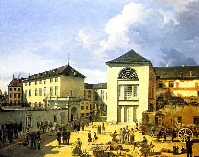 Die alte Akademie in Düsseldorf