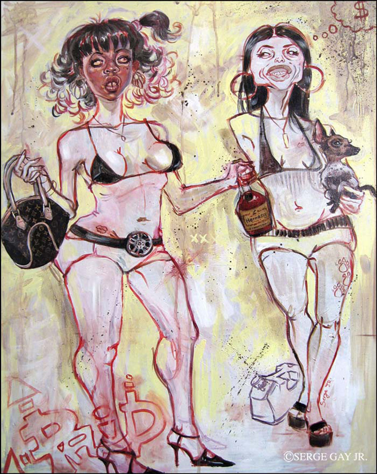 Новые иллюстрации Serge Gay Jr