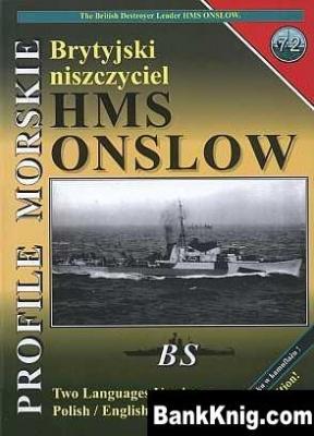 Книга Brytyjiski niszczyciel HMS Onslow