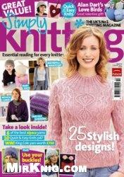 Журнал Simply Knitting №76 February 2011