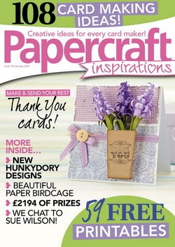Журнал Papercraft Inspirations - January 2015