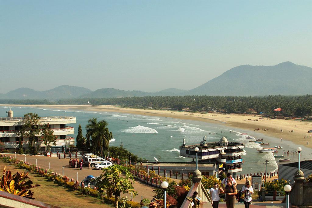 Фото 17. Индия. Гоа. Вид на океан
