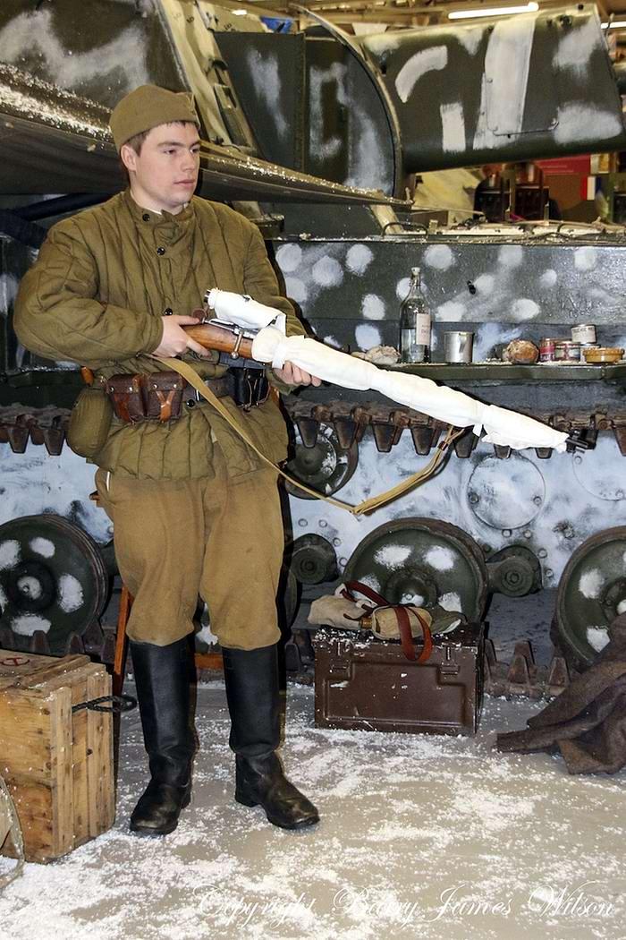 Солдаты Советской Армии в британских реконструкциях сражений 2-й мировой войны (17)