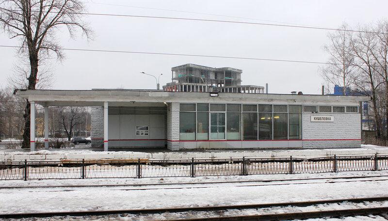 Станция Кушелевка