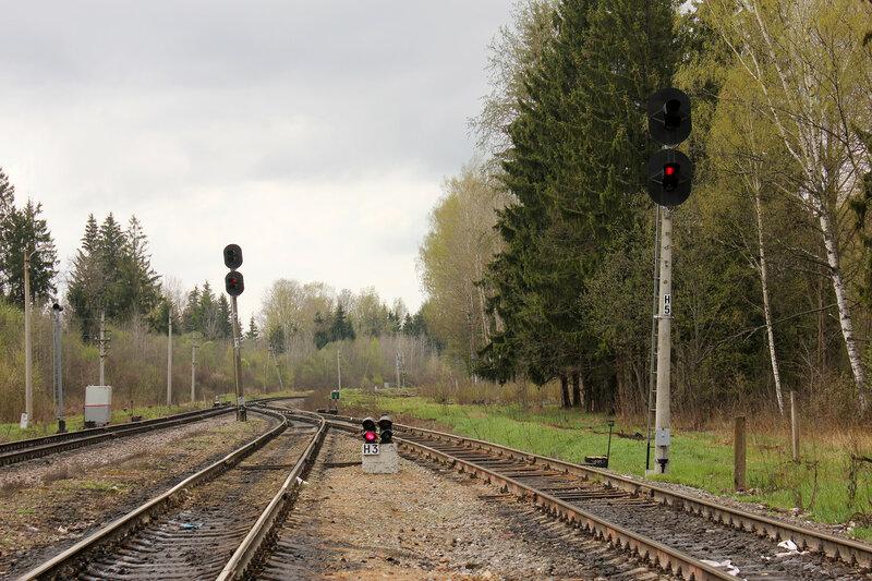 Нечётные выходные по станции Бартенево на Ржев