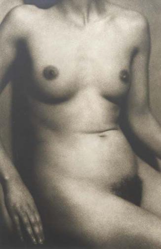 Étude de nu frontal © Albert Rudomine