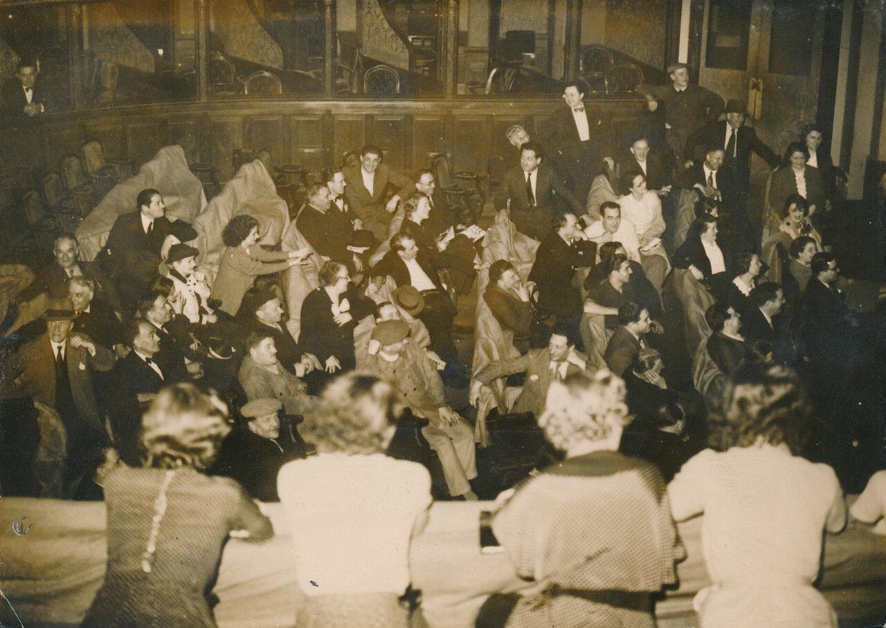 1936. Забастовка художников и сотрудников Национального театра комической оперы
