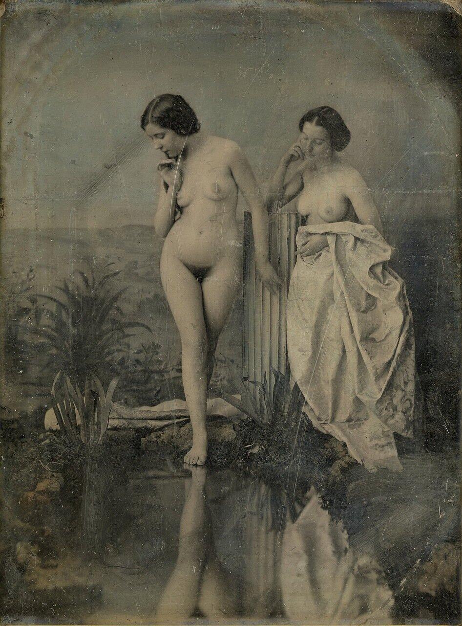 1851. Купальщицы. Изучение ню в живописной композиции