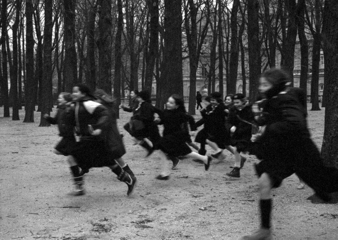 1978. Догоняшки в Люксембургском саду, Париж