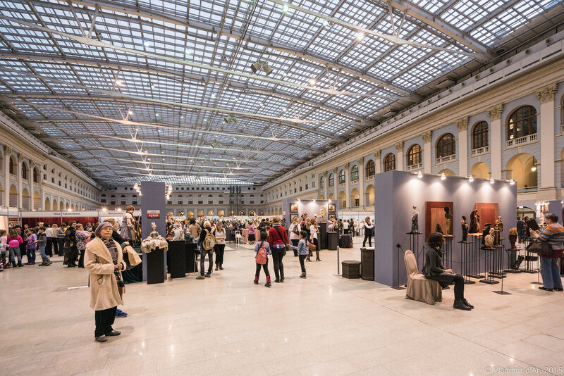 Московская международная выставка «Искусство куклы». 11-13 декабря 2015.