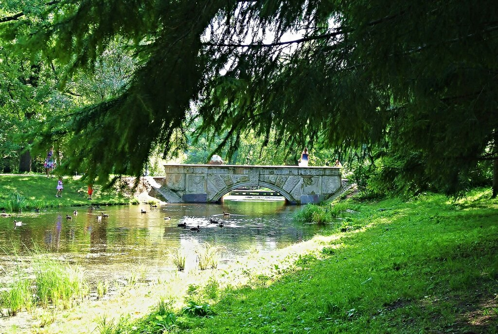 Пейзажный Английский парк..