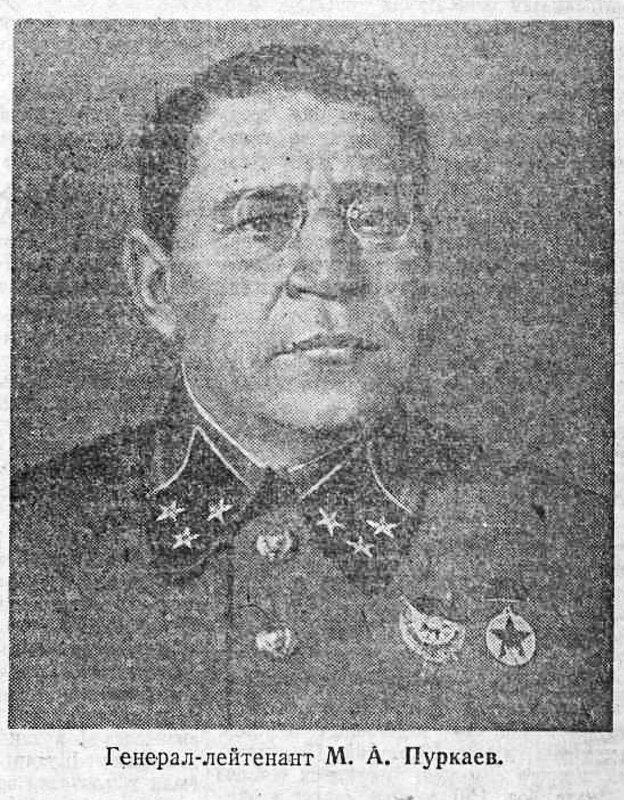 Генерал-лейтенант М.А.Пуркаев, как русские немцев били, потери немцев на Восточном фронте, Красная Армия, полководцы Красной Армии