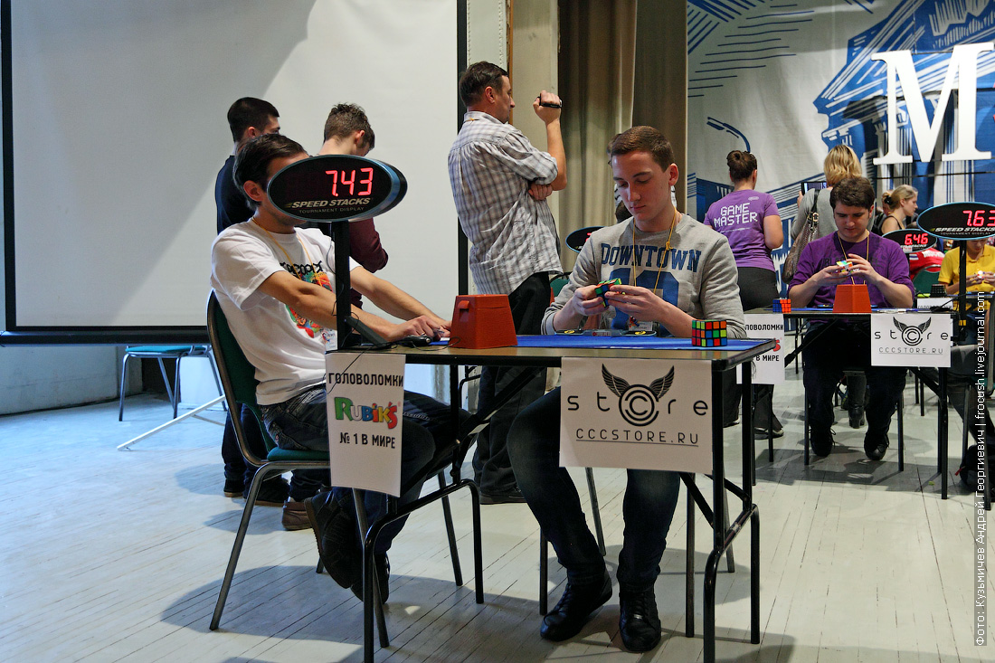 MPEI OPEN RUSSIAN SPEEDCUBING COMPETITION 3х3х3