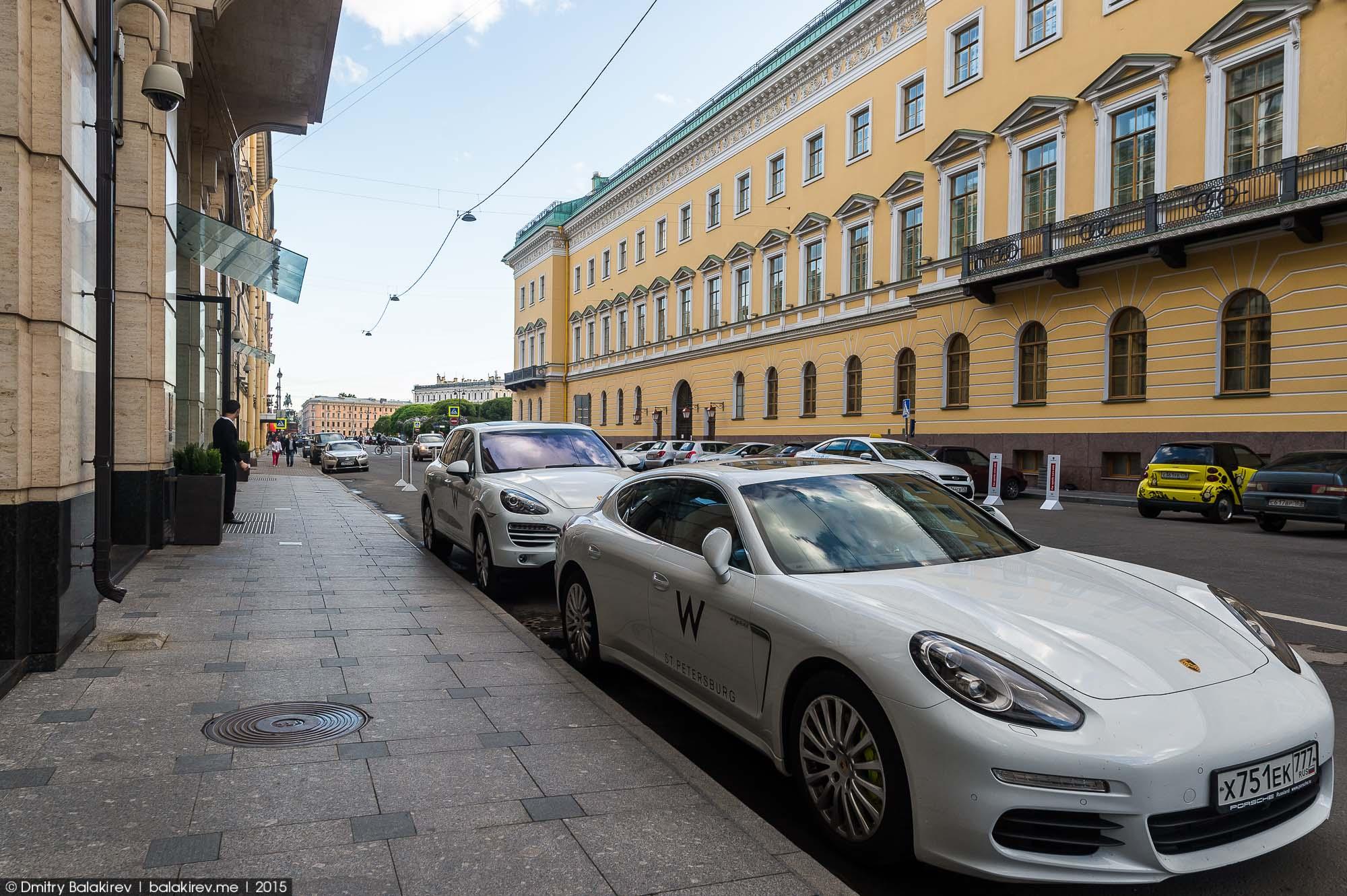 Отель W Санкт-Петербург —Даблю