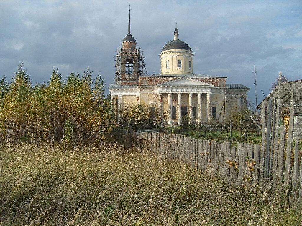 храм в деревне Дудино