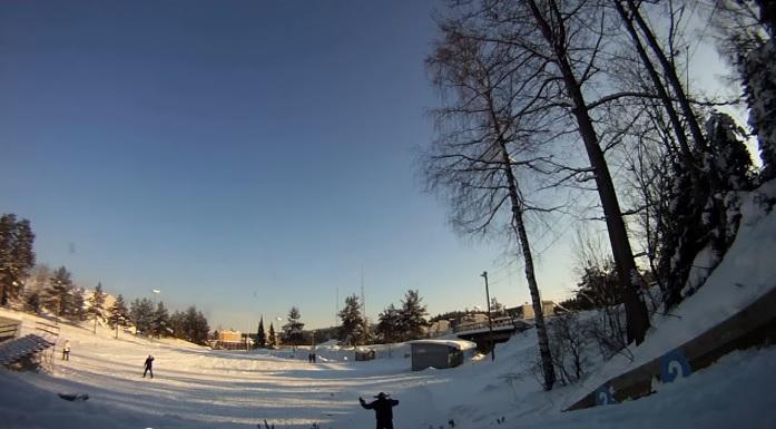Отдых в Финляндии зимой - городок Лахти