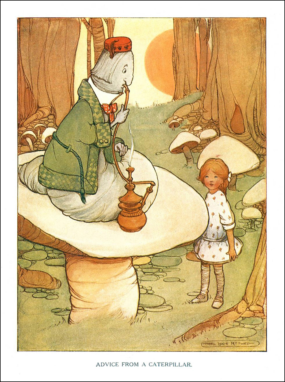 Mabel Lucie Attwell, Alice in Wonderland